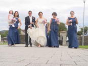 Ballybofey wedding video Donegal Claire Alan