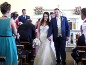 Maggie and Shane's Wedding Preview Video in Lettercran, Pettigo, Co Donegal, and reception in Jacksons in Ballybofey