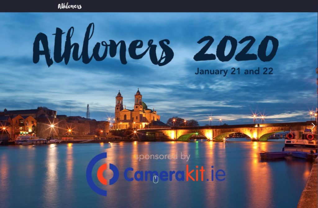 Speaking at Athlone 2020 film conference