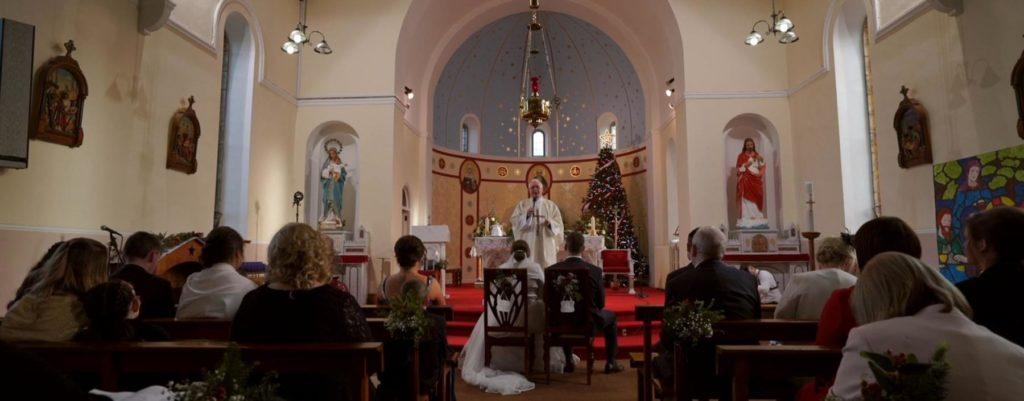 priest bride groom ceremony longford