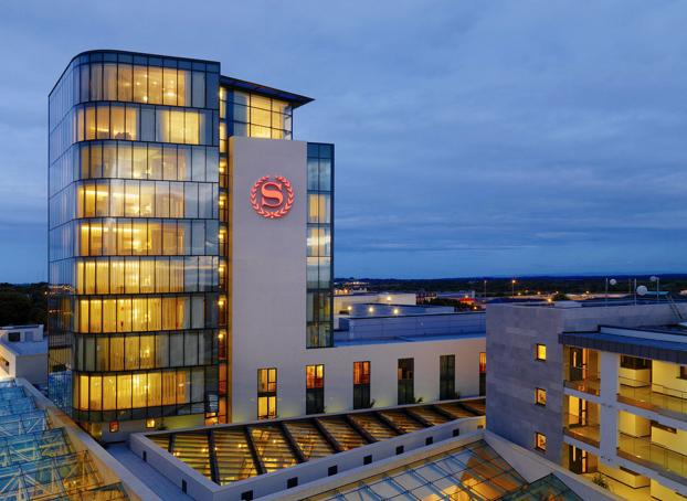 sheraton hotel in athlone for the video conference