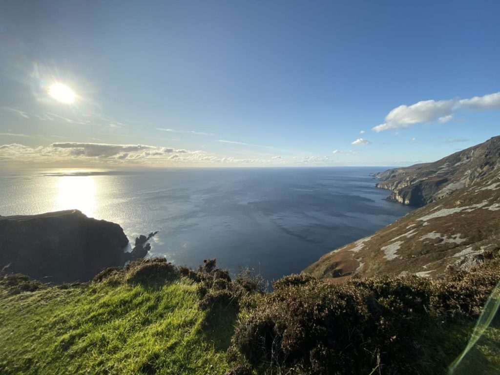 sliabh league slieve liag mountain sea cliff donegal ocean donegal wedding videographer location wild atlantic way