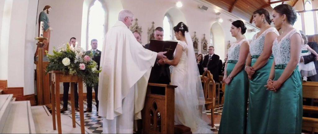 Co Antrim Wedding Ceremony in Glenavy