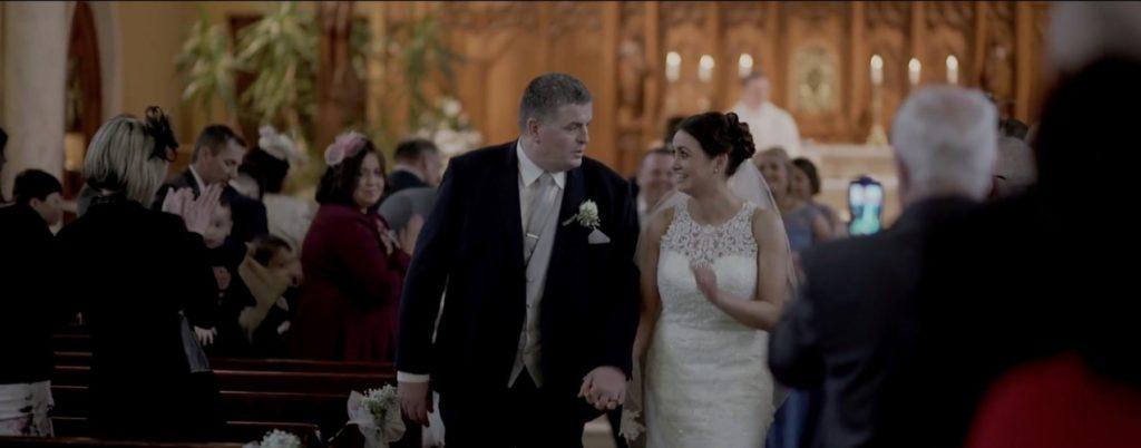 carrigart wedding chapel mass bride groom married wed