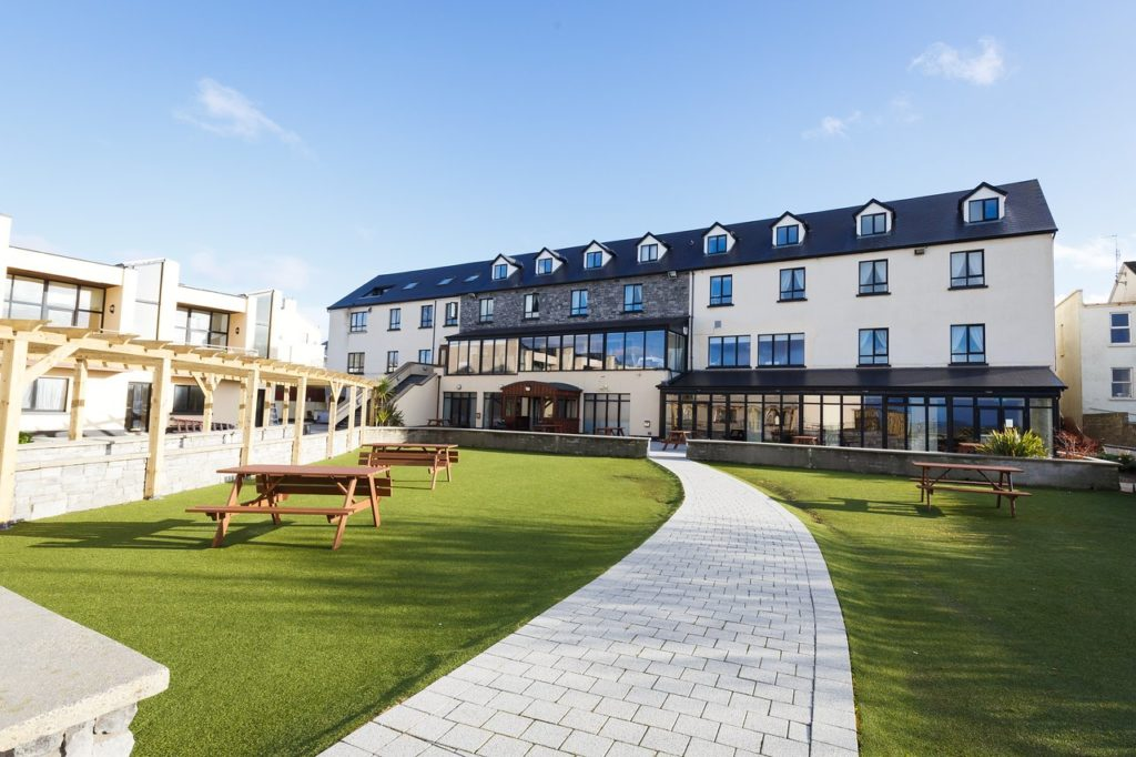 ocean sands hotel enniscrone for sligo wedding videographer