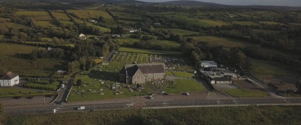 clar church chapel from the air