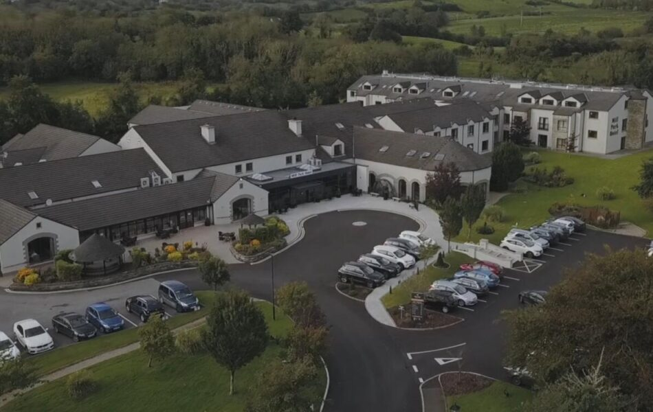Mill Park Hotel Donegal Aerial