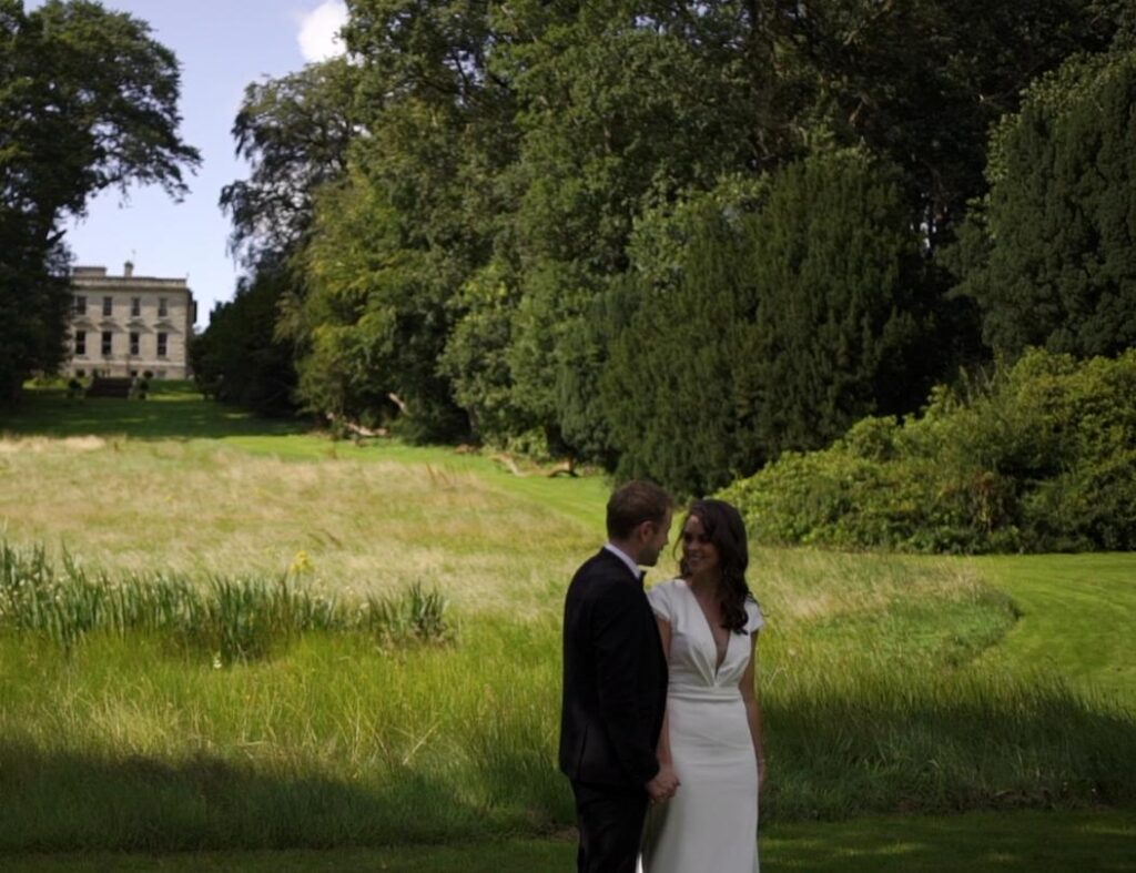 vows in beautiful location