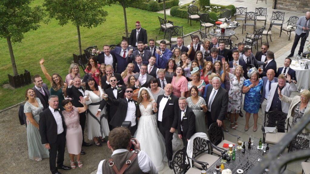 Bellingham Castle Wedding Video of Rebecca & Kevin