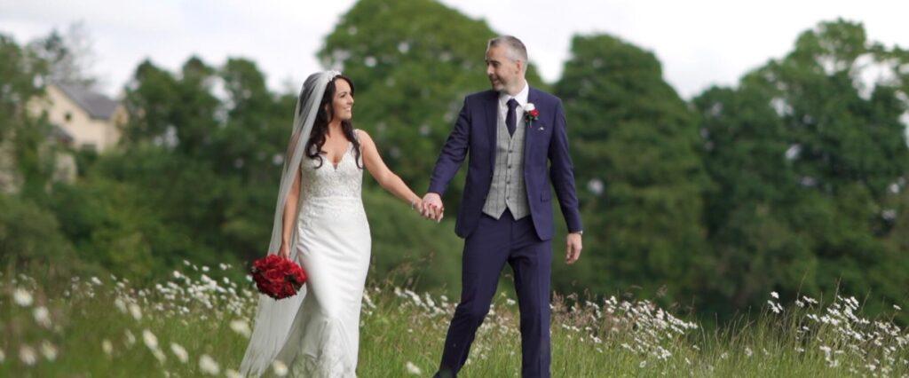 Bride and Groom at Mountcharles