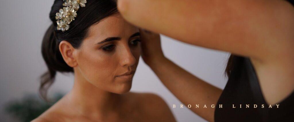 bride bronagh makeup