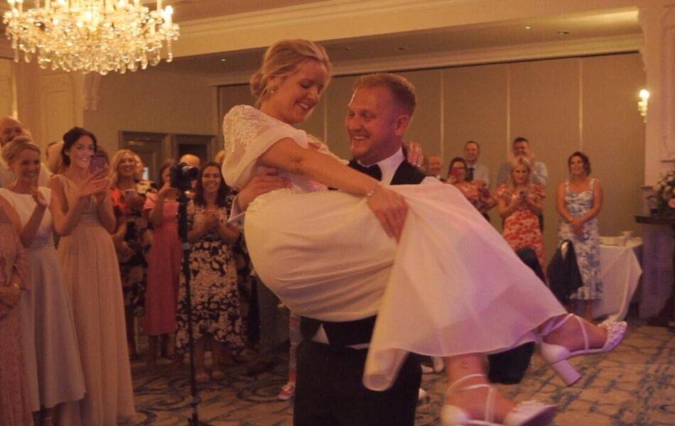 Lough Erne Resort Wedding dance