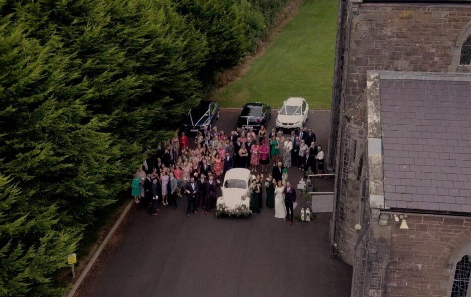 keadue chapel wedding day at kilronan castle